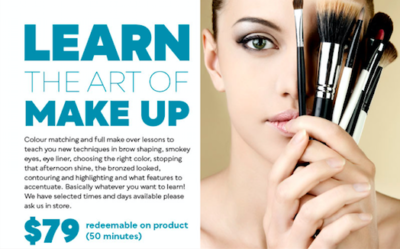 Learn the art of makeup